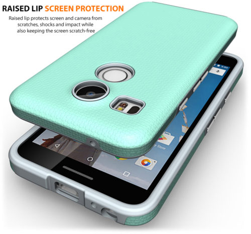 RAISED LIP SCREEN PROTECT NEXUS