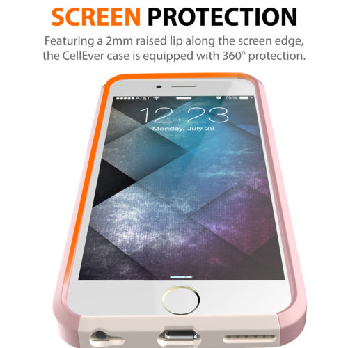 SCREEN PROTECTION RAISED LIP